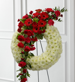 The FTD® Graceful Tribute™ Wreath