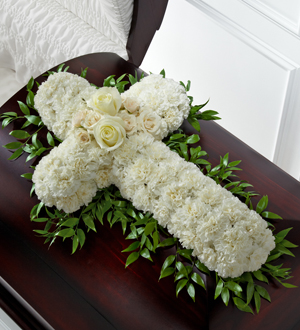Find white funeral flowers and other sympathy gift ideas for same day delivery to Cook, Pederson, Yntema and Ofield funeral homes with Sunnyslope Floral