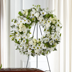 The FTD® Faithful Wishes™ Wreath