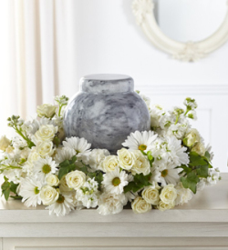 The FTD® Timeless Tribute™ Cremation Adornment