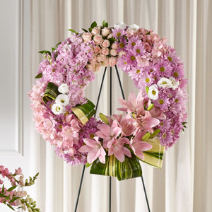 The FTD® Gift of Warmth™ Wreath