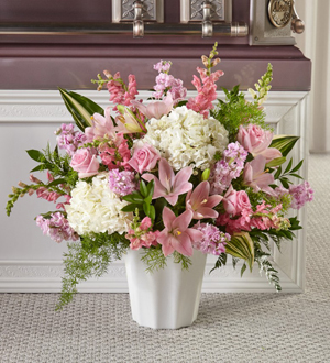 The FTD® Simply Serene™ Floor Basket