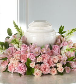 The FTD® Blooms of Hope™ Cremation Adornment