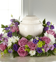 The FTD® Blooming Sympathy™ Cremation Adornment