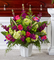 The FTD® Beautiful Horizons™ Floor Basket