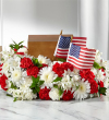 The FTD® Spirit of Patriotism™ Cremation Adornment