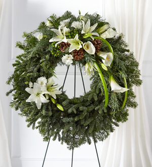 The FTD® Greens of Hope™ Wreath