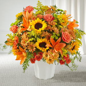 The FTD® Harvest Thoughts™ Floor Basket