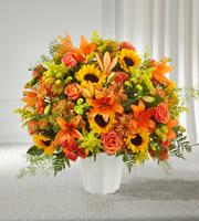 The FTD® Harvest Thoughts™ Floor Basket