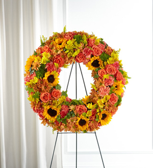 The FTD® Autumnal Memories™ Wreath