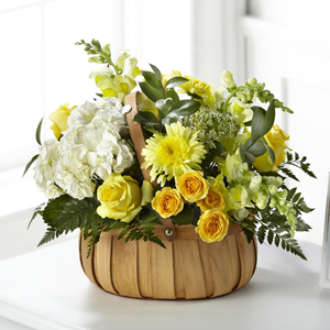 The FTD® Rustic Remembrance™ Basket