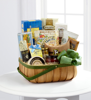 The FTD® Heartfelt Sympathies™ Gourmet Basket