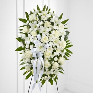 The FTD® Exquisite Tribute™ Standing Spray