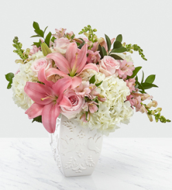 The FTD® Peace and Hope™ Pink Bouquet