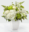 The FTD® Peace and Hope™ Green Bouquet