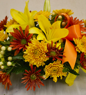 Golden Autumn Centerpiece