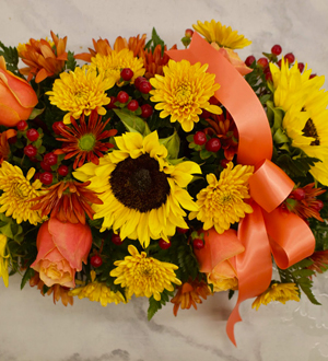 Autumn Burst Centerpiece