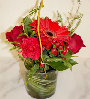 Sensational Red Arrangement