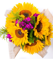 Seasonal Sunflower Bouquet