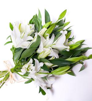 Graceful Lily Bouquet