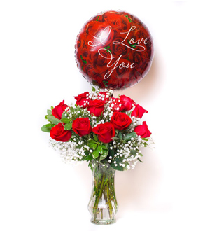 Unforgettable Dozen Rose Red Bundle Love