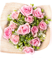 Stunning Rose Bouquet Pink