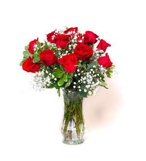 Unforgettable Dozen Rose Red