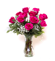 Unforgettable Dozen Rose Pink
