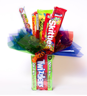 Theater Box Candy Bouquet