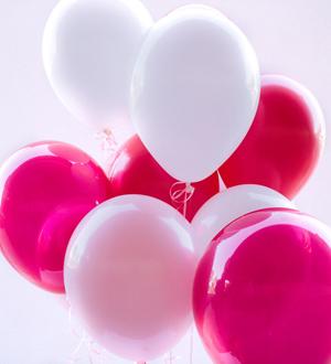 Dozen Latex Balloons Pink