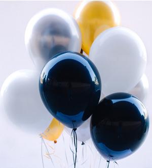 Dozen Latex Balloons Classy