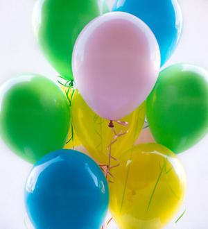 Dozen Latex Balloons Pastel
