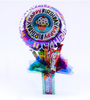 Theater Box Candy Bouquet Bundle Birthday