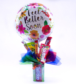 Theater Box Candy Bouquet Bundle Get Well Soon