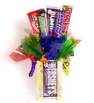 Theater Box Candy Bouquet Chocolate