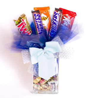 Candy Bouquet Vase