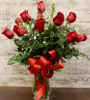 Unforgettable Dozen Rose Red