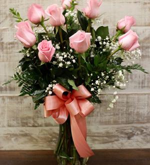 Unforgettable Dozen Rose Pink
