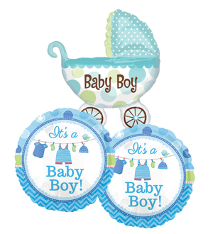 It\'s a Boy Balloon Bundle