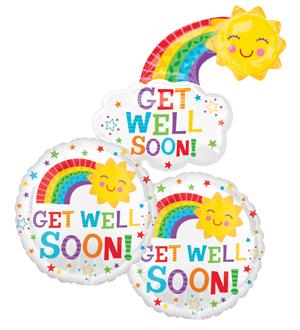 Get Well Soon Balloon Bundle