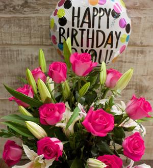 Vons Pavilions Flowers Birthday Roses Pleasanton CA 94588 FTD