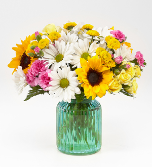 Sunlit Meadows™ Bouquet - Deluxe