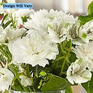 Classic Ivory Florist Original Bouquet