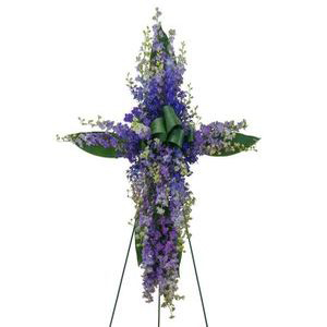 Lovingly Lavender Cross