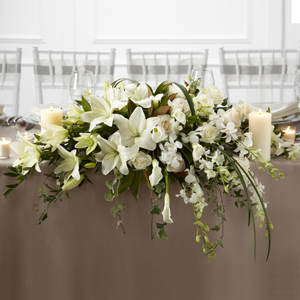 The FTD® White Linen™ Arrangement