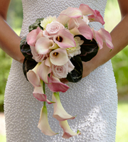 The FTD® Pink Cascade™ Bouquet