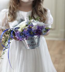 The FTD® Enchantment™ Flower Girl Arrangement