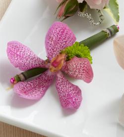 The FTD® Pink Mokara Boutonniere