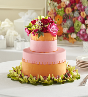 The FTD® Sweet Citrus™ Cake Décor