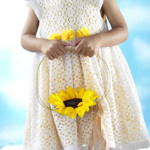 The FTD® Sweet Sunshine™ Flower Girl Bouquet